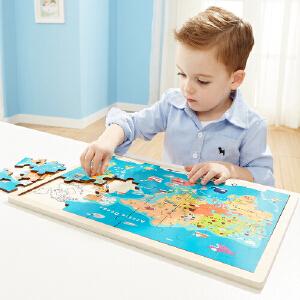 【当当自营】特宝儿 木质3d立体拼图儿童2岁宝宝玩具益智1-3-6周岁4-7岁男孩幼儿早教