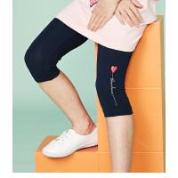 【3折价:41.7元】souhait水孩儿童装夏季新款打底七分裤儿童打底裤女童短裤SHNXGD11CH617