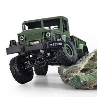 遥控越野车攀爬军卡车四驱充电汽车男孩儿童玩具RC模型车1:16