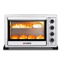 电烤箱家用烘焙蛋糕烤箱 独立控温