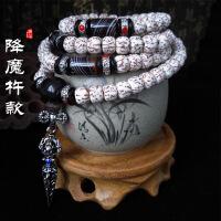 藏式血丝金丝星月菩提子108颗项链手串手链佛珠念珠男女款