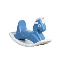 木马塑料大号音乐摇马两用车 儿童室内摇摇马一岁宝宝玩具1-2周岁