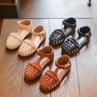 女童凉鞋包头夏季新款中大童公主凉鞋学生凉鞋女宝宝凉鞋