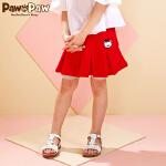 【3件4折 到手价:159】Pawinpaw卡通小熊童装夏款女童半身裙休闲棉质裙裤