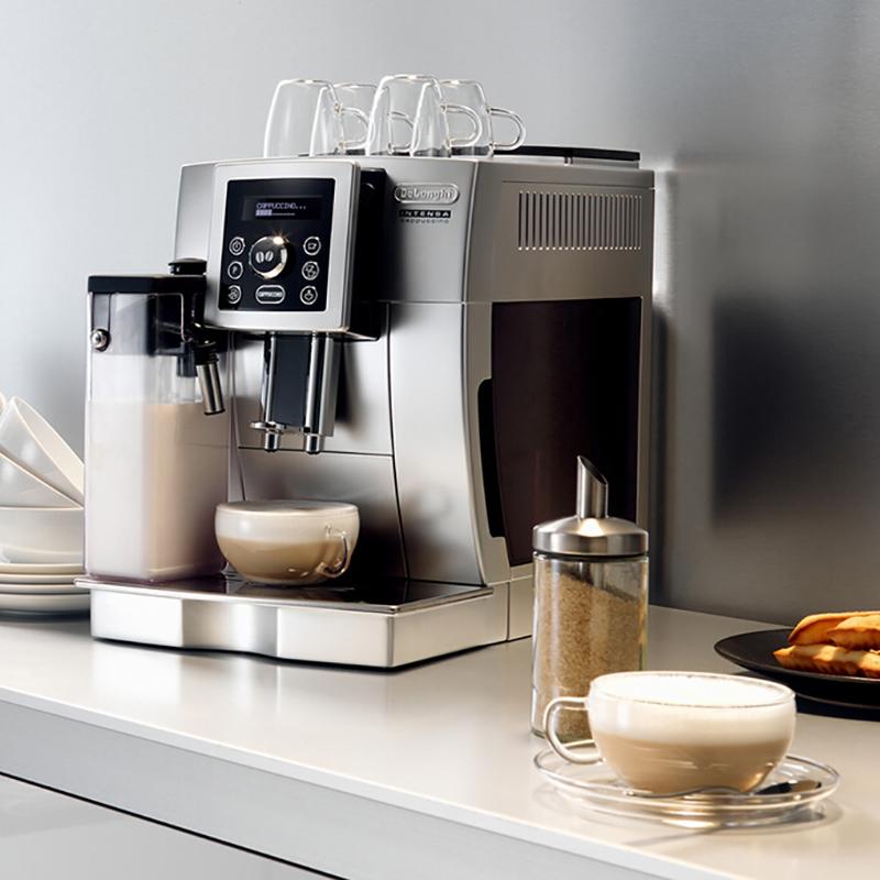 DeLonghi/德龙 意大利意式全自动咖啡机家用进口咖啡机全自动无需滤纸ECAM23.450.S 全自动咖啡机家用进口咖啡机全自动无需滤纸