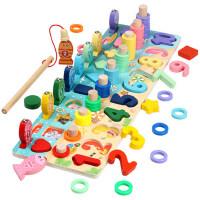 婴幼儿童玩具数字早教男女孩益智力宝宝1-2岁3多功能动脑积木拼装