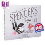 【中商原版】Jessie Sima 斯宾塞的新宠物 英文原版 Spencer's New Pet 精装故事绘本