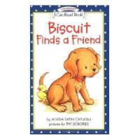 英文原版儿童书 Biscuit Finds a Friend 小饼干找朋友