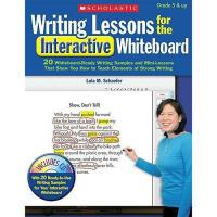 【预订】Writing Lessons for the Interactive Whiteboard: 20