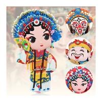 创意礼品老外 磁铁磁性冰箱贴京剧戏曲人物中国古风特色出国