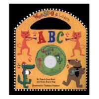 英文原版儿童书 Wee Sing & Learn ABC [With CD] 有声读物