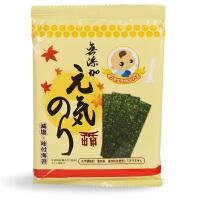 日本营养辅食食品 婴儿辅食妙谷无添加 低盐海苔 宝宝紫菜拌饭料