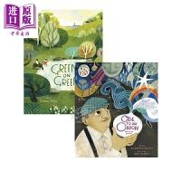 【中商原版】Felicita Sala 绘本2册 Green on Green 踏青 Ode to an Onion 洋