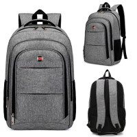 双肩包男时尚潮流学生电脑包商务旅行包大容量书包女轻便休闲背包
