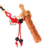 桃木剑家居装饰品风水桃木剑挂件莲花宝鼎小剑木雕工艺品