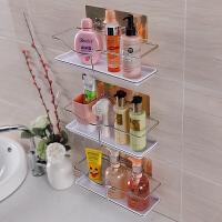 双庆浴室吸盘置物架卫生间用品收纳架不锈钢壁挂洗手间厕所免打孔