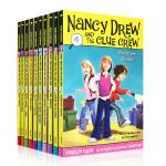 英文原版 Nancy Drew 侦探故事南茜朱尔儿童初级章节书1-10套装