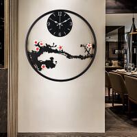 时钟挂钟客厅个性创意时尚钟表中国风墙钟现代简约大气中式石英钟