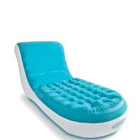 门扉 充气沙发 植绒充气沙发床两用躺椅折叠午睡椅懒人沙发座椅单人沙发床