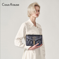 【1件3折,到手价:112.5元】Clous Krause CK包包女包2019新款单肩斜挎包猫咪配饰单肩链条斜挎包菱