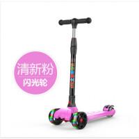 儿童滑板车宝宝单脚踏板车男女孩2-3-6-12岁小孩四轮滑滑车可折叠
