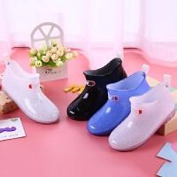 公主中大童小孩小学生宝宝水鞋水靴胶鞋儿童雨鞋防滑男童女童雨靴