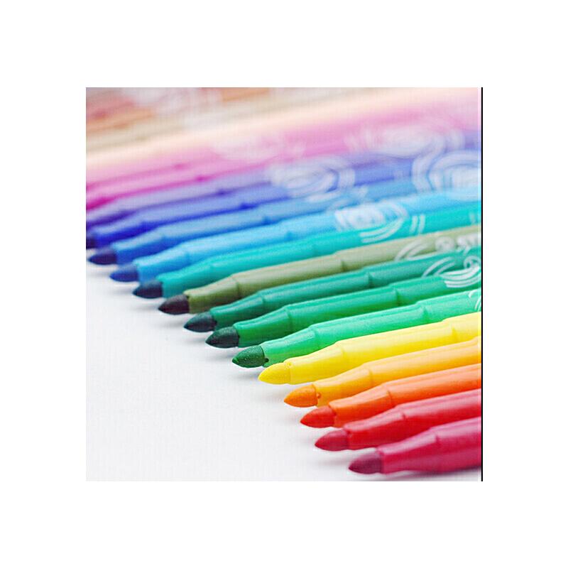 德国天鹅 STABILO思笔乐 动力乐 水彩笔 280-12 儿童易水洗绘画笔