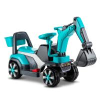 男孩不带遥控工程车儿童电动挖掘机玩具车挖土机可坐可骑大号钩机