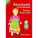 【预订】Anastasia from Russia Sticker Paper Doll