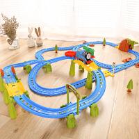 小火车套装电动轨道男孩子组装玩具3-8岁儿童礼物