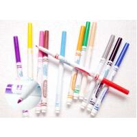 [Crayola绘儿乐]12色可水洗细头马克笔 水彩笔 流行色 58-7813