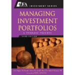 【预订】Managing Investment Portfolios, Third Edition: A