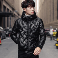 棉衣男士冬季外套2018新款加绒加厚棉袄韩版潮流帅气短款羽绒