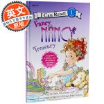 I Can Read Fancy Nancy Treasury 英文原版 漂亮的南希6个故事合集 英语儿童绘本 分级读