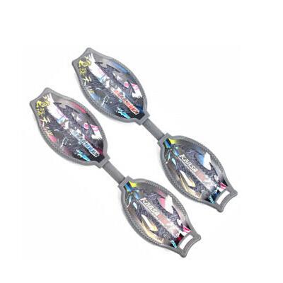 儿童滑板车二轮滑板加厚闪光蛇形板 成人活力板游龙板