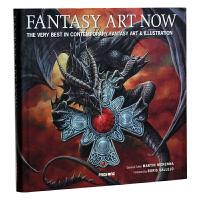 FANTASY ART NOW 当代奇幻主义绘画 魔幻艺术插画 绘画艺术设计书籍 漫画艺术画册