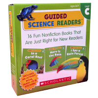 英文原版 Guided Science Readers Level C 16 Books+1 Activity Boo