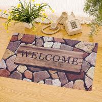 享家欧式防滑垫橡胶无纺布印花入户进门地垫地毯地垫地垫门垫