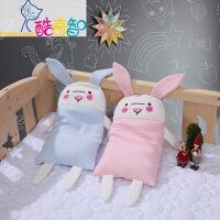 【年货直降】富安娜出品 酷奇智可爱萌趣母婴玩偶枕 35*21cm