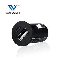 BAI WATT 手机车载充电器 点烟器插头 手机电源头 汽车用品 2.4A快充