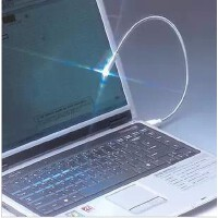 笔记本USB灯 金属 直插式/可任意角度弯曲 USB台灯/LED灯