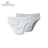 【直降】英氏儿童夏季内裤纯棉男童三角内裤2件装164004
