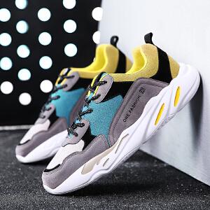 西瑞男鞋运动休闲鞋低帮轻便跑步鞋时尚百搭板鞋男学生潮鞋ZC1810