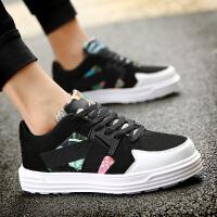 秋季新款男孩潮板鞋11韩版增高大童男鞋子学生运动鞋