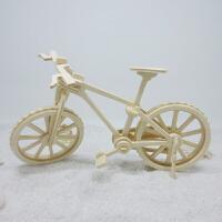 3D立体拼图木质模型拼板儿童玩具diy拼装木制礼物动物船