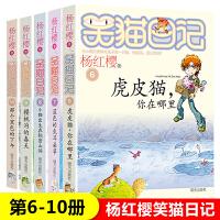 笑猫日记全套5册杨红樱校园小说系列 那个黑色的下午+虎皮猫你在哪里+蓝色的耳朵草+小猫出生在秘密山洞+樱桃沟的春天 中