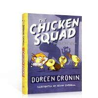 小鸡特工队 侦探推理小说章节书 英文原版The Chicken Squad: The First Misadventu
