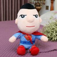 复仇者联盟公仔毛绒玩具抓机娃娃蜘蛛侠钢铁侠美国队长蝙蝠侠玩偶