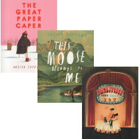 奥利弗・杰夫斯 Oliver Jeffers 智慧小孩系列 3本套装 Great Paper Cape 大熊的纸飞机