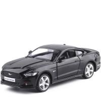 福特野马5.0L车模小汽车模型玩具5寸回力车